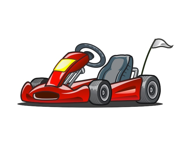 Go kart racing car