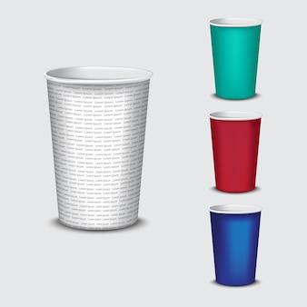 Gobelet en papier recyle