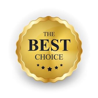 Gold label le meilleur modèle de choix.