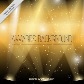 Des golden background