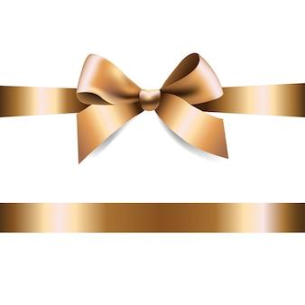 Golden bow