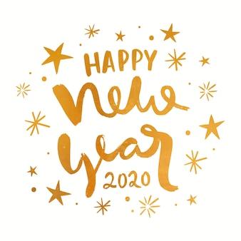 Golden nouvel an 2020