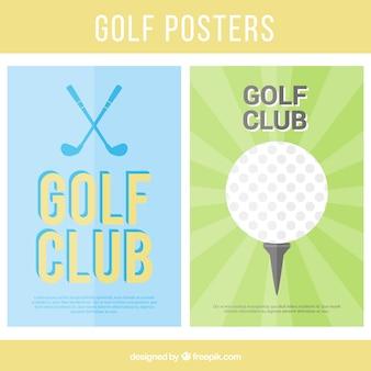 Golf collection des affiches