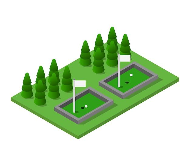 Golf isométrique