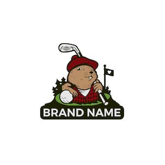 Gopher illustrate logo