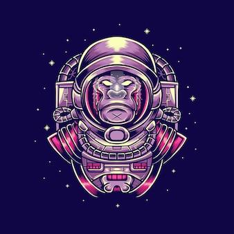 Gorille astronout