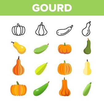 Gourd automne saison récolte