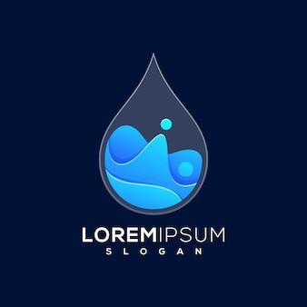 Goutte d'eau logo