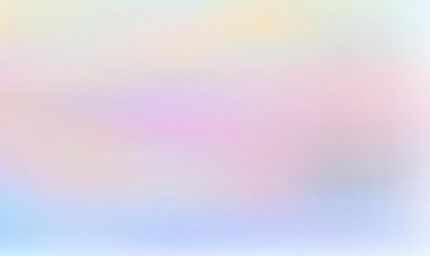 Gradient de couleurs pastel holographique abstraite, fond abstrait de couleur ondulée