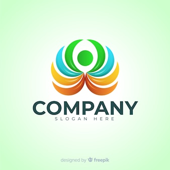 Gradient logo de médias sociaux