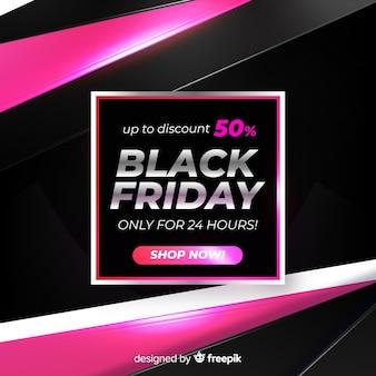 Gradient vendredi noir vente en ligne pour une journée