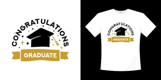 Graduation 2021 typographie manuscrite conception de t-shirt senior 2021 classe d'études supérieures de 2021 illustration