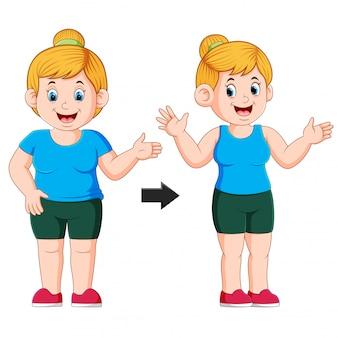 Graisse adaptée à la transformation du corps de la femme