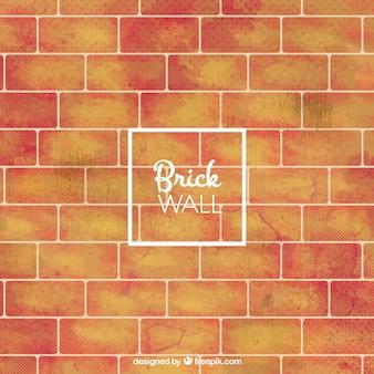 Grand fond de mur de briques