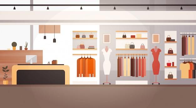 Grande bannière de magasin de centre commercial de vêtements de marché superbe de vêtements de mode de magasin féminin avec