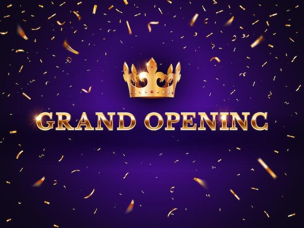 Grande bannière d'ouverture