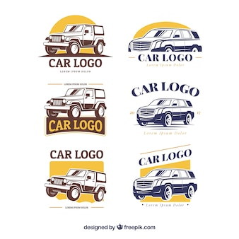 Grande collection de logo de voiture