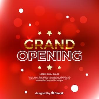 Grande ouverture