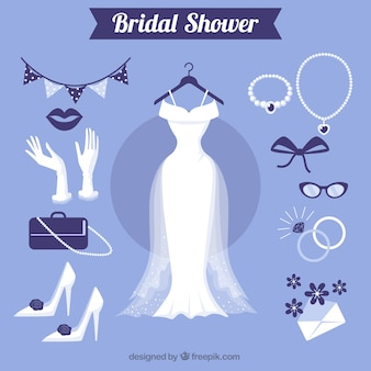Grands accessoires féminins pour le mariage