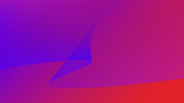 Graphique coloré vibrant 3d de la vague