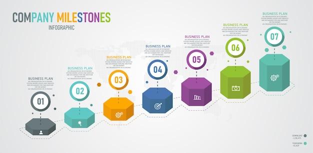 Graphique infographique 3d
