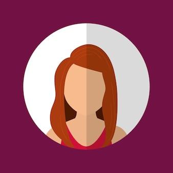Graphique de profil de personnes