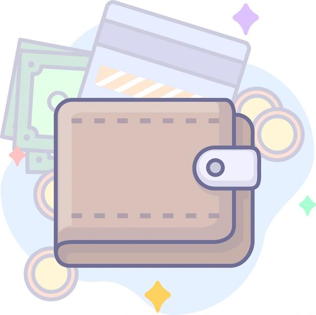 Graphiques d'entreprise avec portefeuille