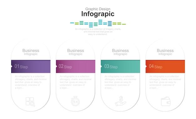 Graphiques d'informations colorées vectorielles pour vos présentations d'entreprise illustration de stock conseils abstraits