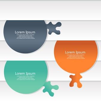 Graphiques d'informations pour le web