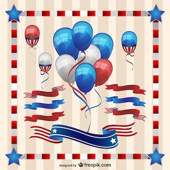 Graphiques libres de jour de l'indépendance