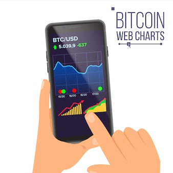 Graphiques web bitcoin