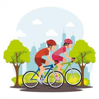 Graphisme vélo et cyclisme