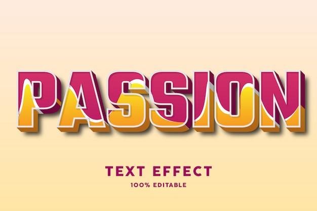 Gras fort avec effet de texte de texture ondulée
