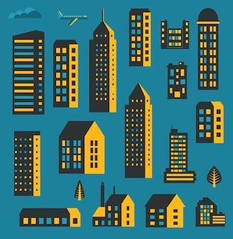 Gratte-ciel de la ville moderne