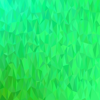 Green geometrical chaotic triangle background - mosaïque illustration vectorielle