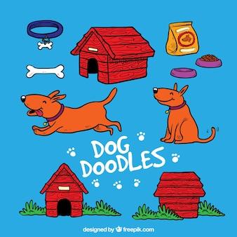 Griffonnages dog