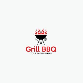 Grill bbq logo