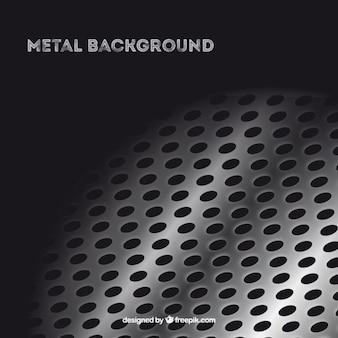 Grille métallique fond
