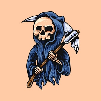 Grim reaper et faux