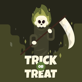 Grim reaper (trick or treat)