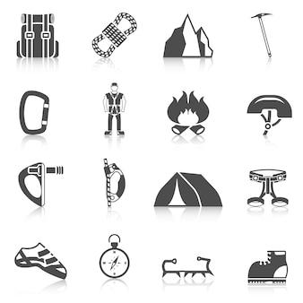 Grimber gear icons black