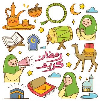 Griodle kawaii du ramadan