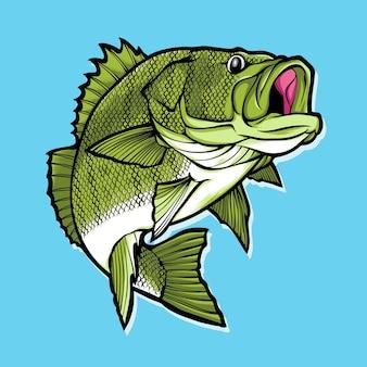 Gros poisson de basse
