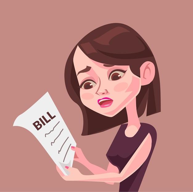 Gros projet de loi. illustration plate