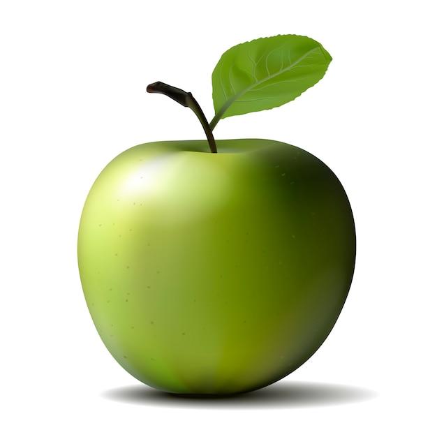 Grosse pomme verte