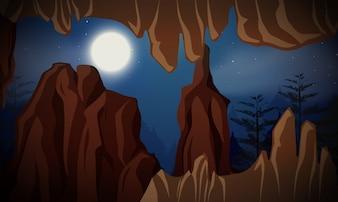 Grotte de nuit