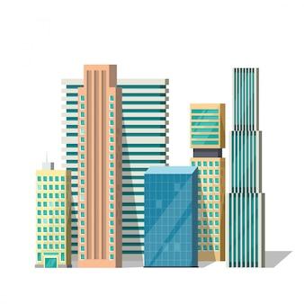 Groupe de bâtiments