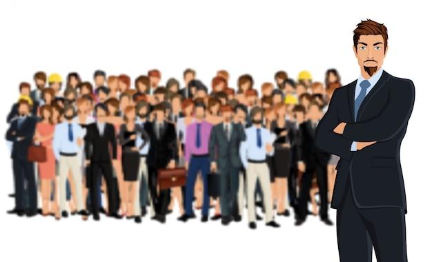 Groupe de l'équipe d'affaires