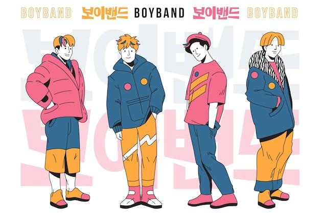 Groupe de garçons k-pop