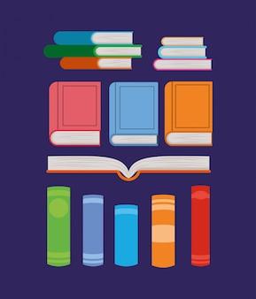 Groupe de livres